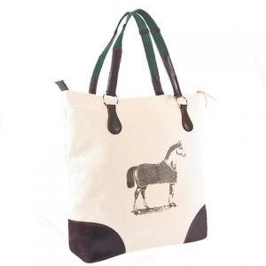 Burghley Tote with Horse Design