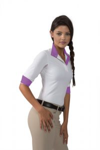 Kastel Show Shirt Purple Trim