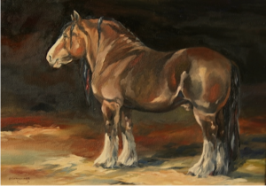 clydesdale-framed-oil-17-x14-5-900