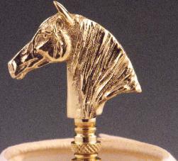 horse head finial