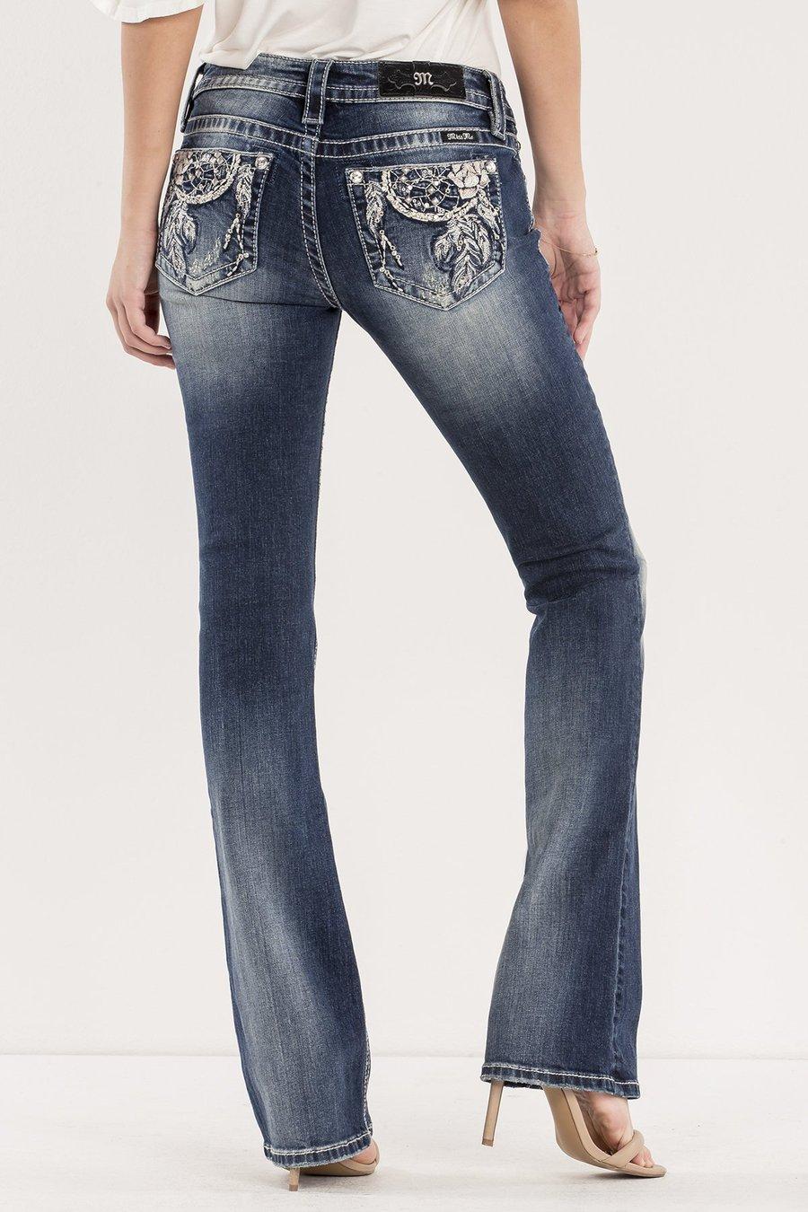 27deecf4bc9 Miss Me Dream Big Mid-Rise Boot Cut Jeans | Equine Divine