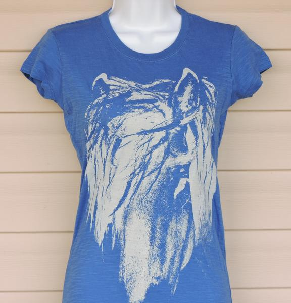 """c1d1bd7e9faf0 Cowgirls for a Cause """"Wild"""" Short Sleeve T-Shirt – Royal Blue ..."""